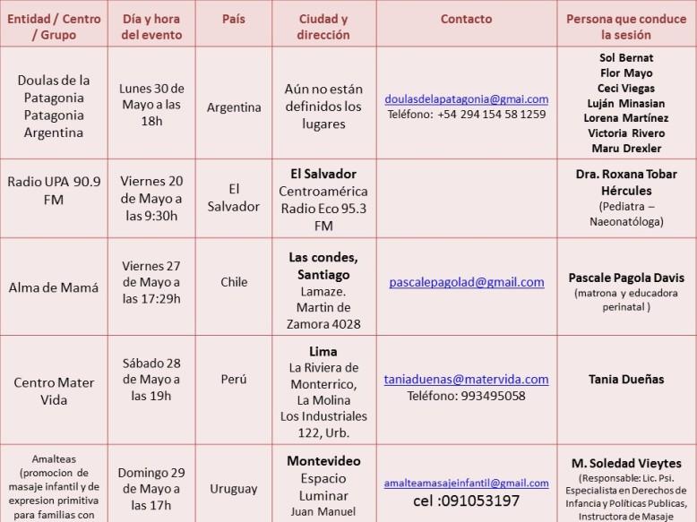 Calendario extranjero